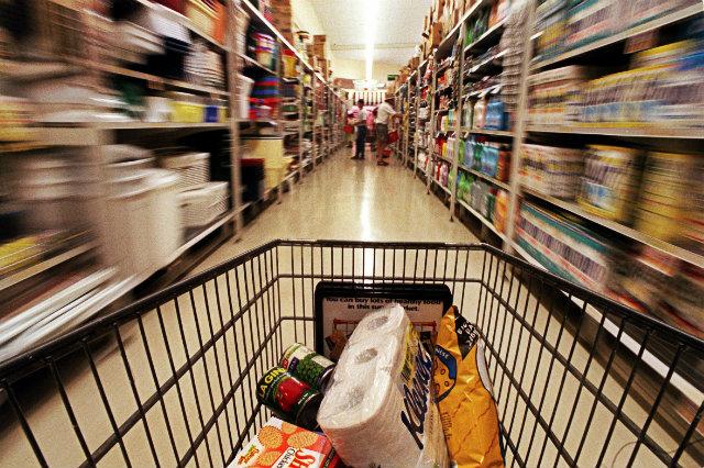 carrello - Al supermercato