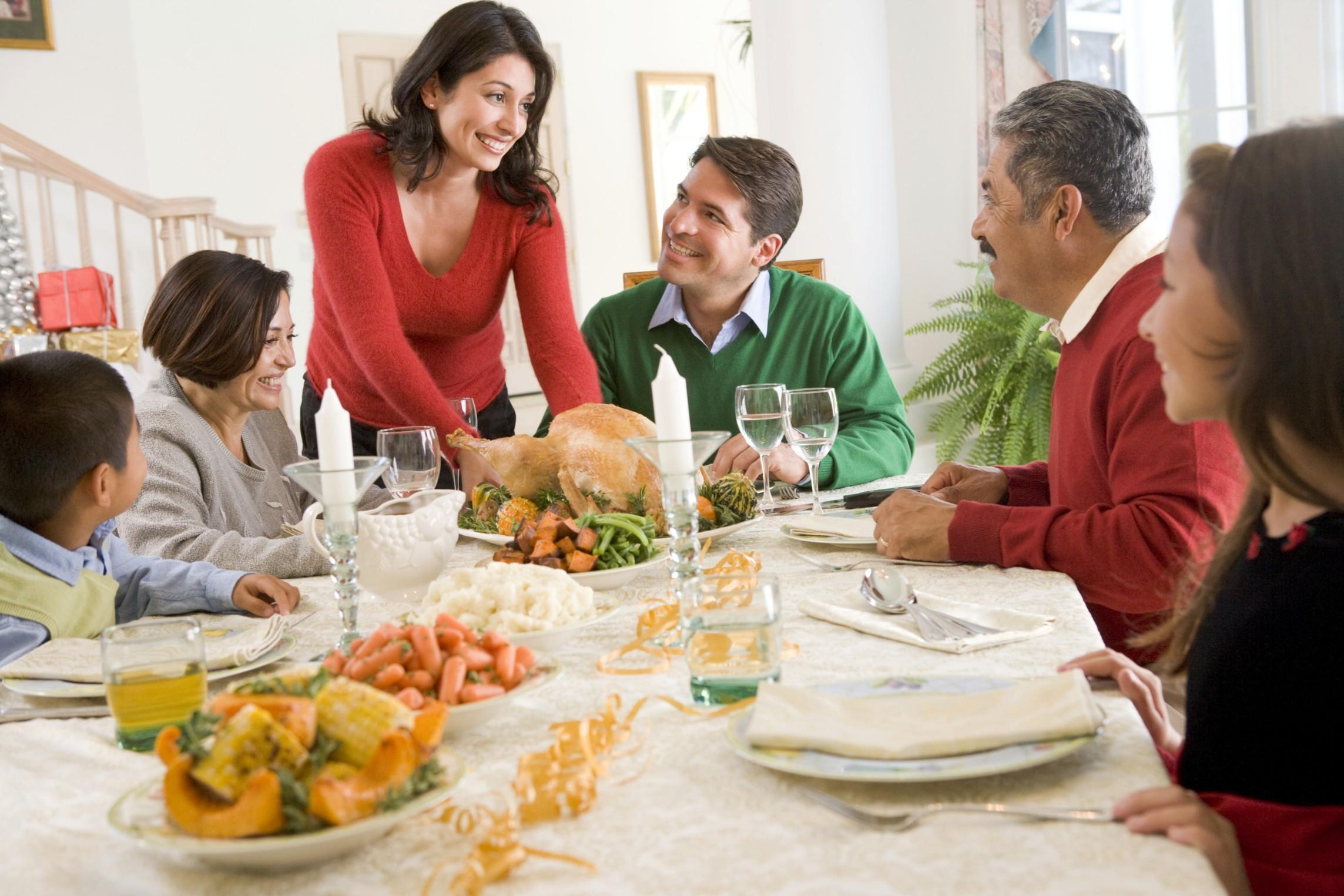 cena con i parenti - Giro la minestra