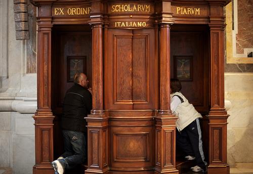 confessionali - vergogna