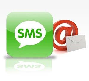 sms e email - SMS e Email