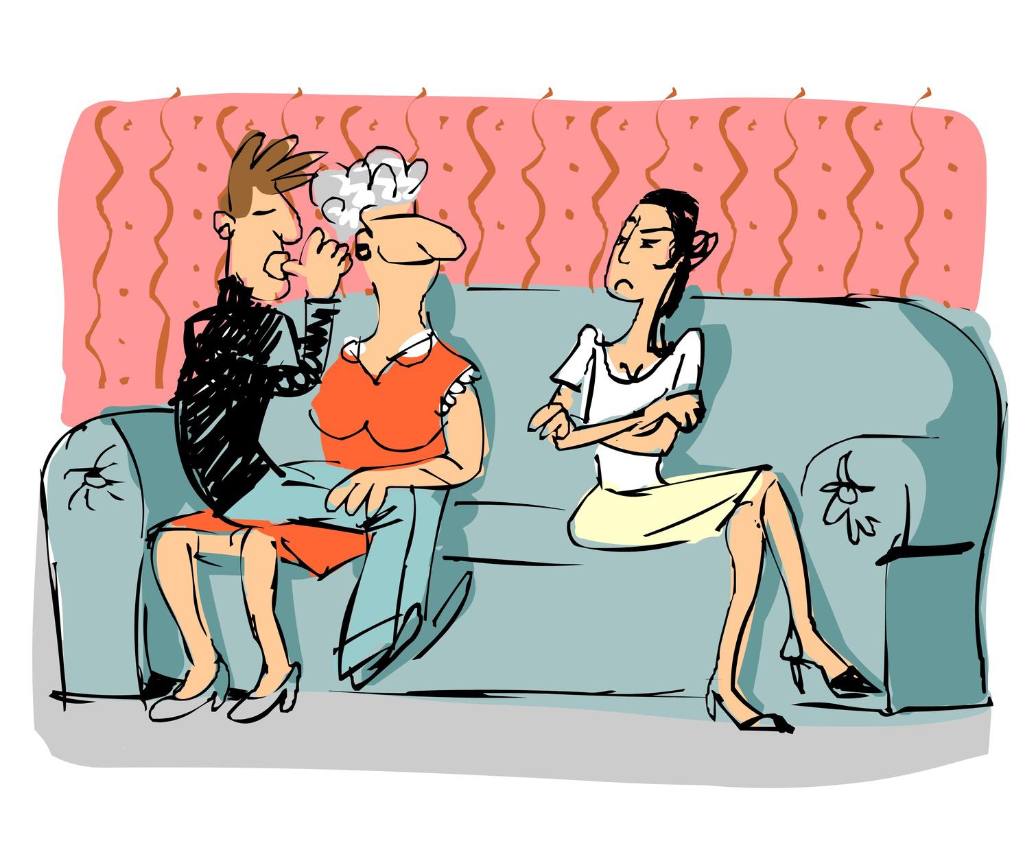 suocera e marito - Amo mia cognata!!!!